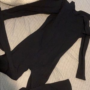 American Apparel high neck jumpsuit size s